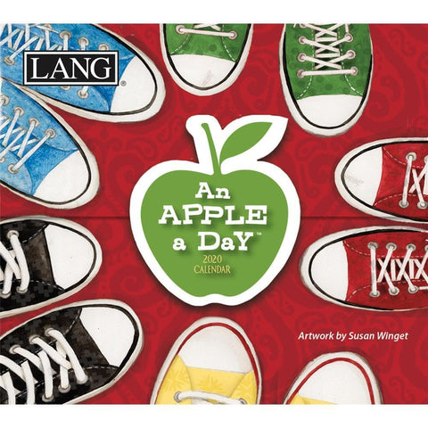 Apple a Day 2020 Small Box Calendar Front Cover