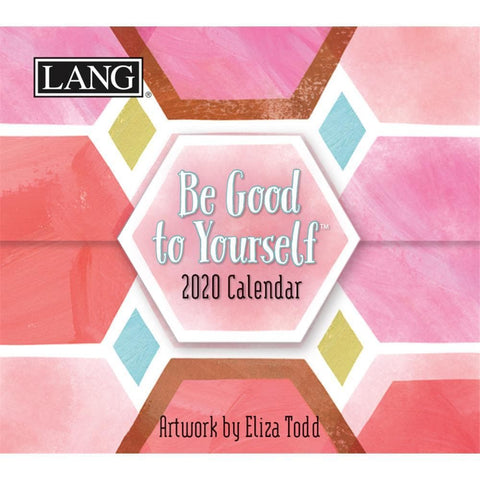 Be Good to Yourself 2020 Small Box Calendar Front Cover