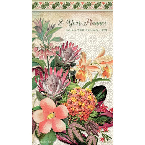 Botanical Gardens 2020 2yr Pocket Planner Front Cover