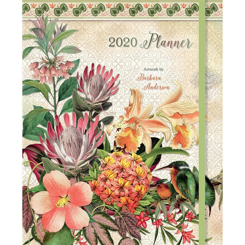 Botanical Gardens File It 2020 Engagement Calendar Front Cover