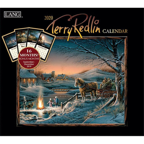 Terry Redlin 2020 Special Edition Wall Calendar Front Cover
