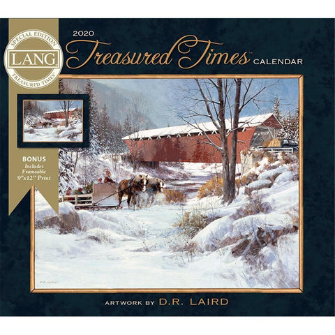Treasured Times 2020 Special Edition Wall Calendar Front Cover