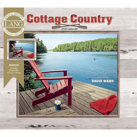 Cottage Country 2020 Special Edition Wall Calendar Front Cover