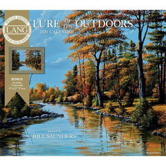 Lure of the Outdoors 2020 Special Edition Wall Calendar Front Cover