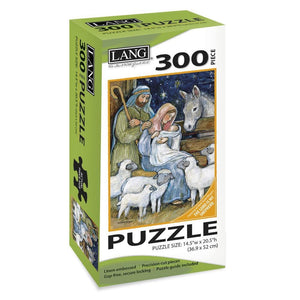 Sheep Nativity Holiday Puzzle 300 Piece - Online Exclusive