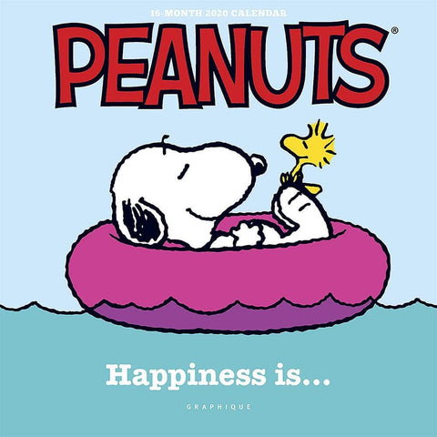 Peanuts Happiness Is 2020 Mini Calendar Front Image