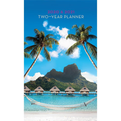 Island Paradise 2Yr Pkt Planner Front Image