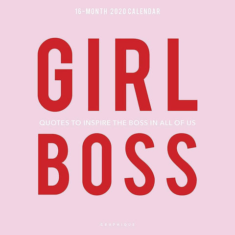 Girl Boss 2020 Wall Calendar Front Image