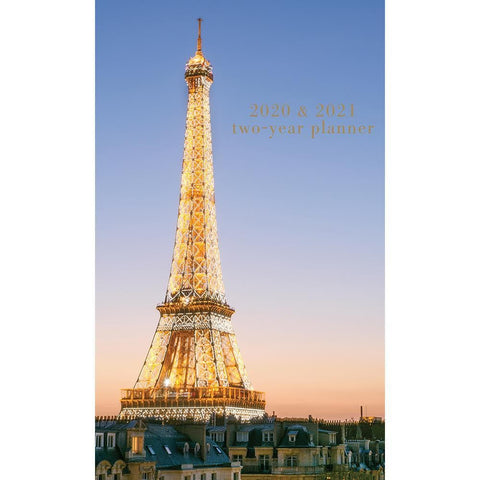 Parisian Life 2Yr Pkt Planner Front Image