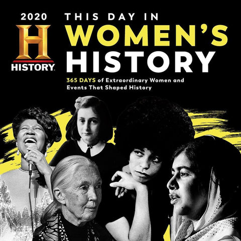 History Channel This Day in Womens History 2020 Wall Calendar Front Cover