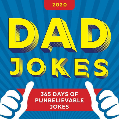 Dad Jokes 2020 Box Calendar Front Cover