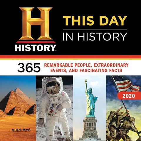 History Channel This Day in History 2020 Wall Calendar Front Cover