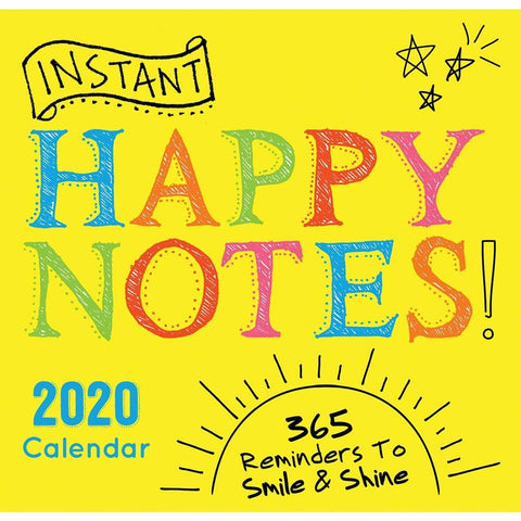Instant Happy Notes 2020 Box Calendar Front Cover