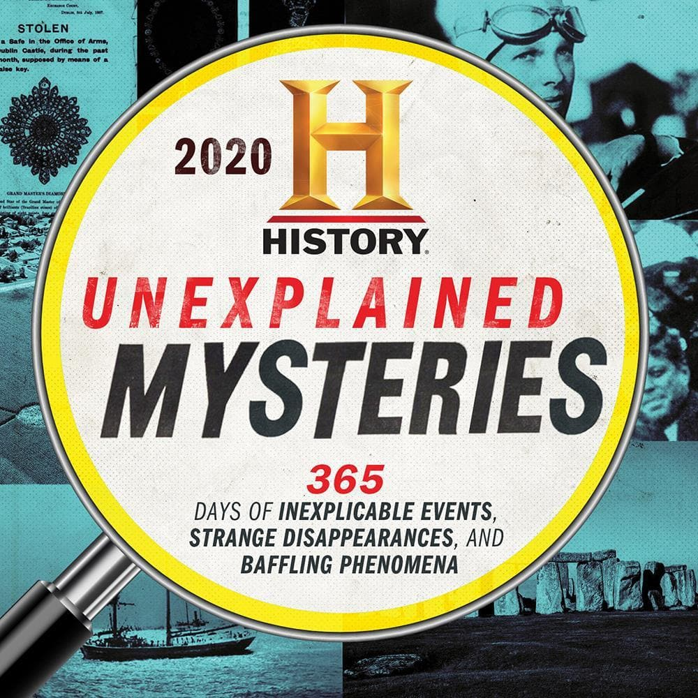 History Channel Unexplained Mysteries 2020 Box Calendar
