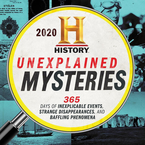 History Channel Unexplained Mysteries 2020 Box Calendar Front Cover