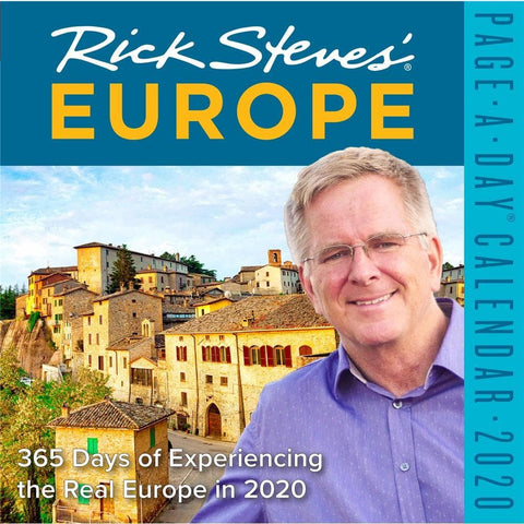 Europe Rick Steves 2020 Box CalendarFront Cover