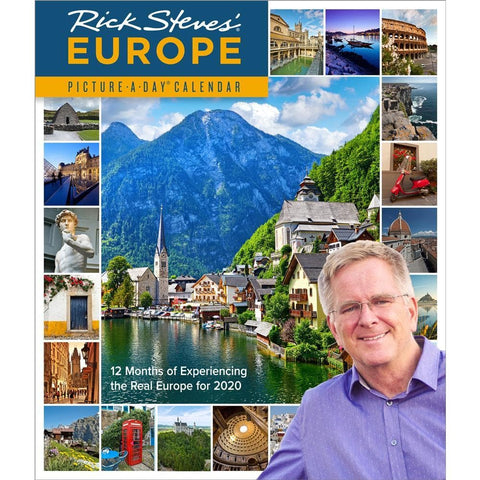 Europe Rick Steves Picture a Day 2020 Wall Calendar Front Cover
