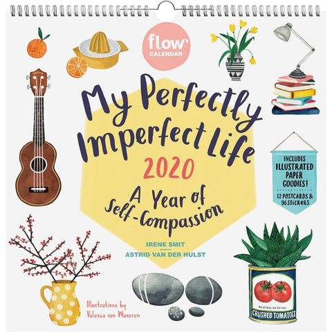 My Perfectly Imperfect Life 2020 Wall Calendar Front Cover
