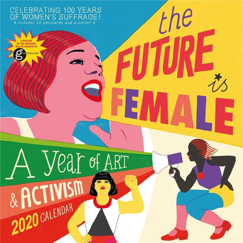 Future Is Female 2020 Wall Calendar Front Cover