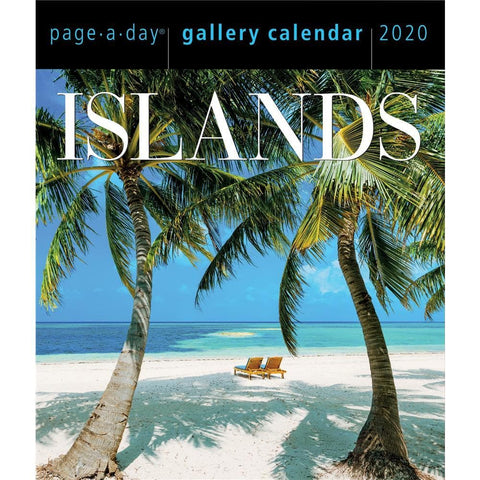 Islands Gallery 2020 Box CalendarFront Cover