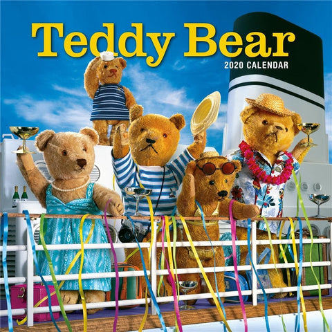 Teddy Bear 2020 Wall Calendar Front Cover