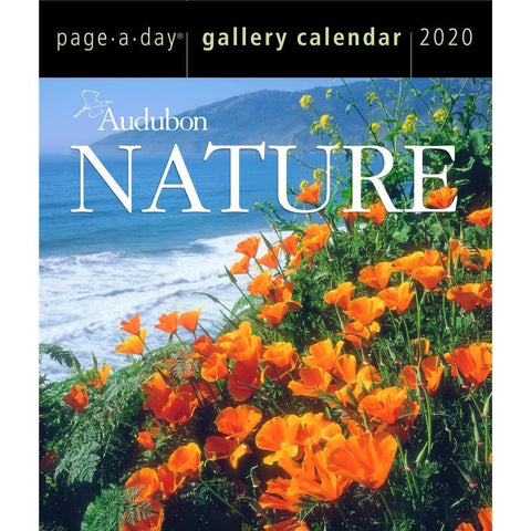 Nature Audubon Gallery 2020 Box CalendarFront Cover
