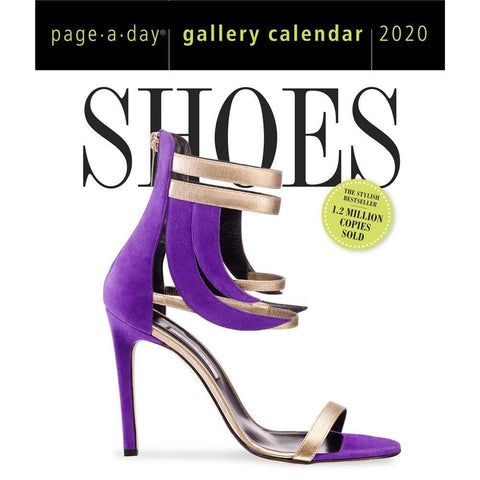 Shoes Gallery 2020 Box CalendarFront Cover