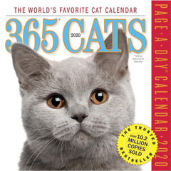 Cats 365 2020 Box CalendarFront Cover