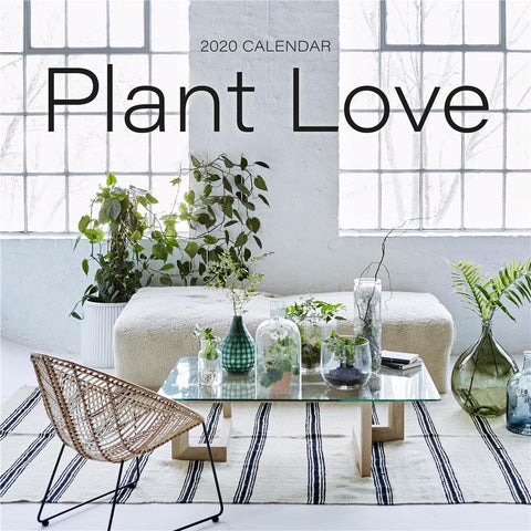 Plant Love 2020 Wall Calendar Front Cover