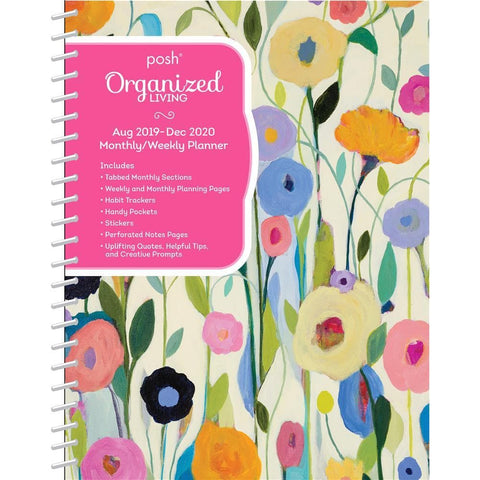 Summers Beauty Posh Organized Living 2020 Engagement Calendar Front Cover