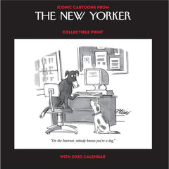 Cartoons from The New Yorker Collectible Print 2020 Wall Calendar Front Cover