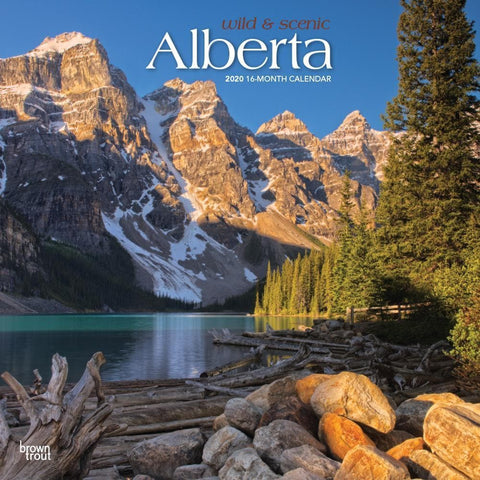 Alberta Wild and Scenic 2020 Wall Calendar Front Cover