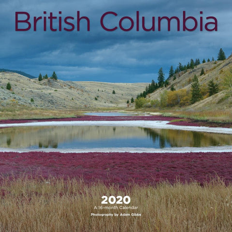 British Columbia 2020 Mini Calendar Front Cover