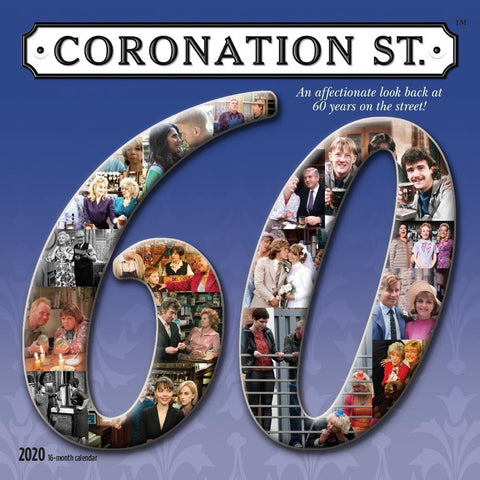 Coronation Street 2020 Wall Calendar Front Cover