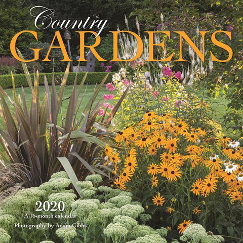 Country Gardens 2020 Mini Calendar Front Cover