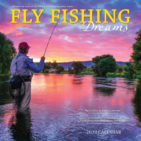 Fly Fishing Dreams 2020 Wall Calendar Front Cover