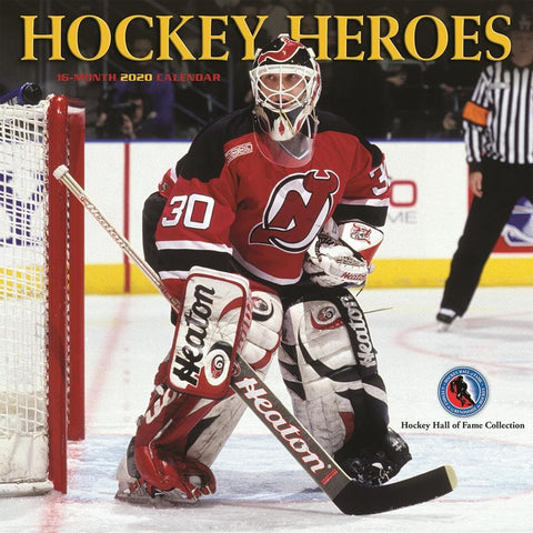 Hockey Heroes 2020 Wall Calendar Front Cover