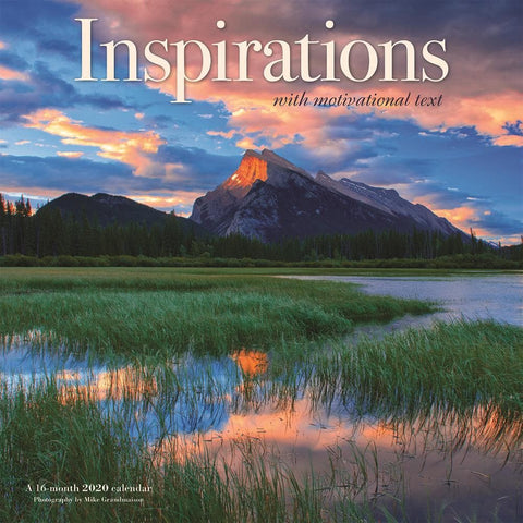 Inspirations 2020 Wall Calendar Front Cover