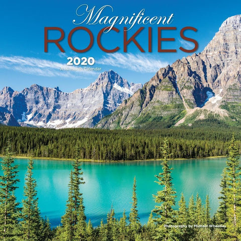 Magnificent Rockies 2020 Mini Calendar Front Cover