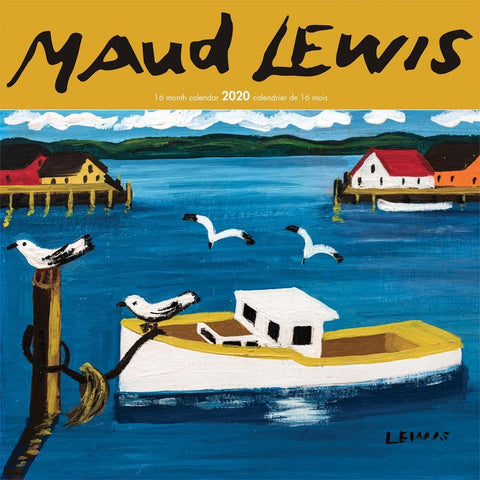 Maud Lewis 2020 Wall Calendar Front Cover
