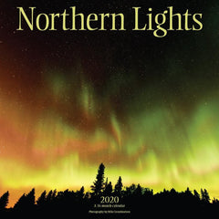 Northern Lights 2020 Wall Calendar Front Cover