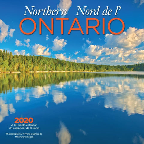 Ontario Northern Bilingual 2020 Wall Calendar Front Cover