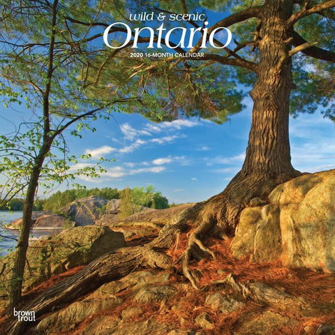 Ontario Wild and Scenic 2020 Wall Calendar Front Cover