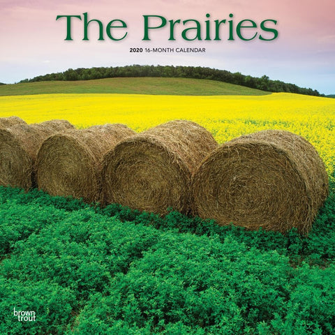 Prairies 2020 Wall Calendar Front Cover