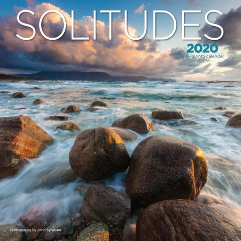 Solitudes 2020 Wall Calendar Front Cover