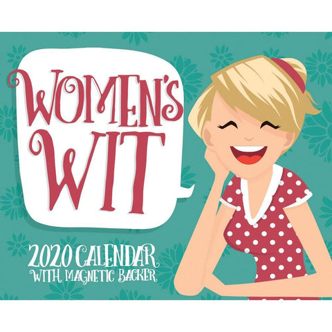 Womens Wit 2020 Small Box Calendar Front Cover