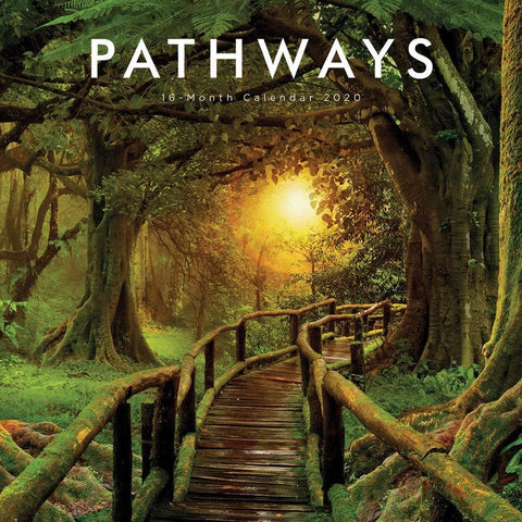 Pathways 2020 Wall CalendarFront Cover