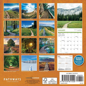 Pathways 2021 Mini Calendar Back Cover Image