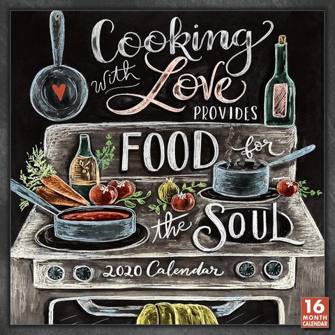 Cooking With Love 2020 Wall Calendar Front Cover