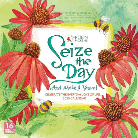 Seize the Day 2020 Wall Calendar Front Cover